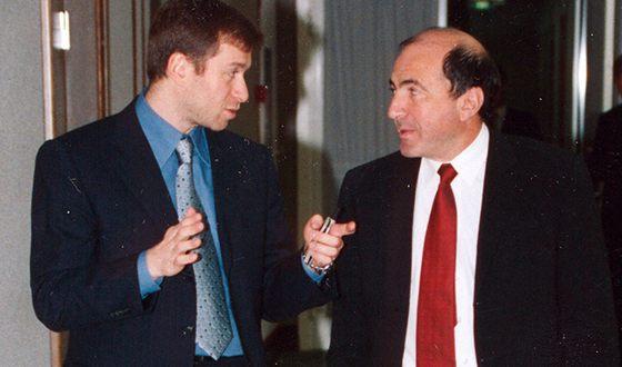 Роман Абрамович и Борис Березовский