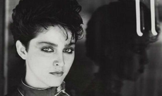 Мадонна в молодости (1981 год)