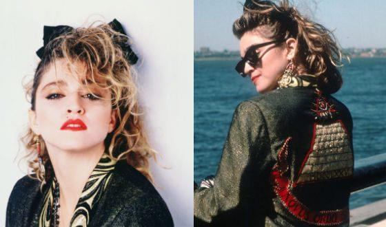 Мадонна в фильме «Отчаянные поиски Сьюзан»