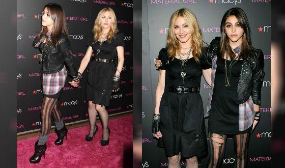 Мадонна и ее дочь Лурдес представляют линейку одежды