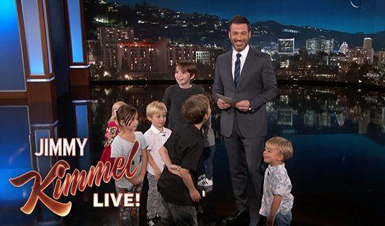 С 2013 года Джимми Киммел в шоу Jimmy Kimmel Live! стал обсуждать с детьми политические вопросы