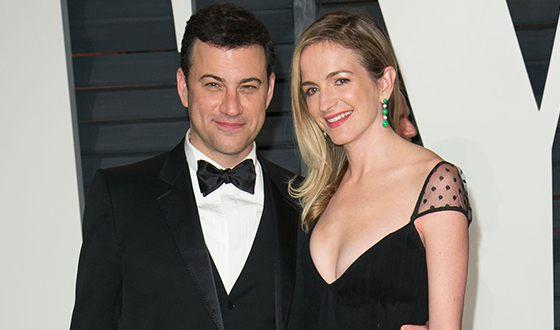 Джимми Киммел и его жена Молли Макнейрни