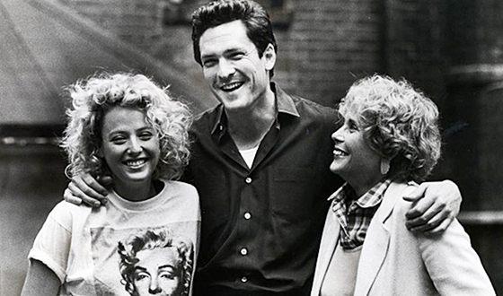 Майкл Мэдсен с мамой и сестрой Вирджинией