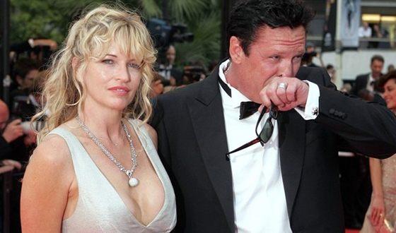 Майкл Мэдсен с женой ДеАнной Морган