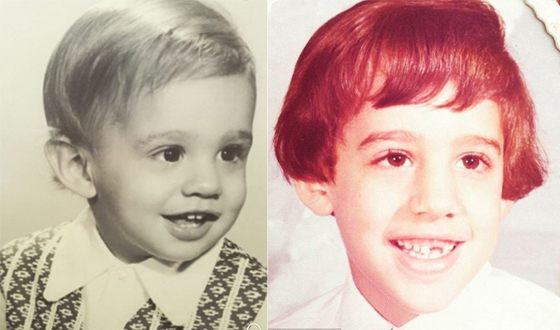 Бобби Каннавале в детстве