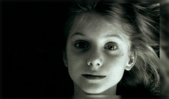 Мелани Лоран в детстве