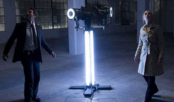 Мелани Лоран на съемках фильма «Иллюзия обмана»