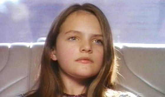 Элизабет Мосс в детстве