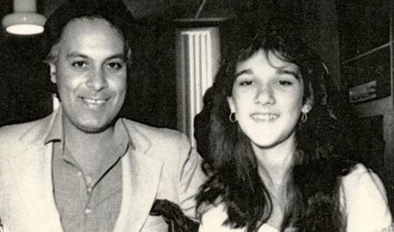 Селин Дион и Рене Анжелил в молодости