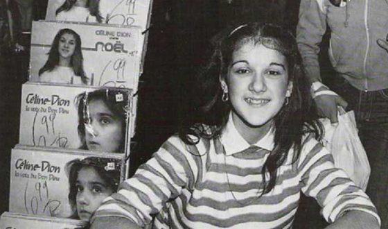Песни с самого первого альбома Селин Дион стали хитами