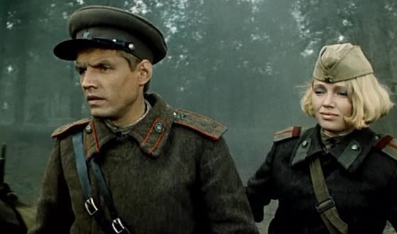 Александр Галибин в картине «Батальоны просят огня»