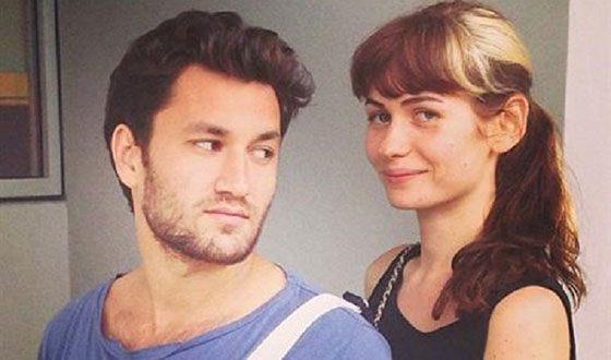 Певица Луна и ее муж Юрий Бардаш