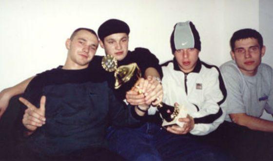 Группа «Каста» в молодости