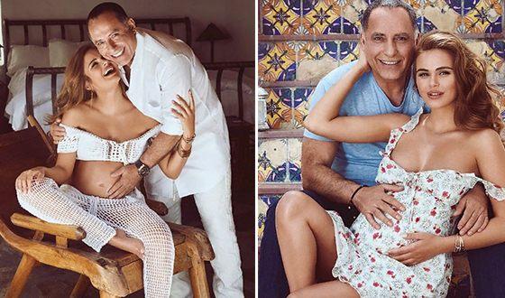 Ксения Дели с мужем Осамой Фати Рабахом аль-Шарифом стали родителями 25 июля 2018 года