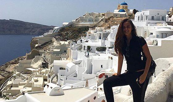 Ксения Дели любит путешествовать