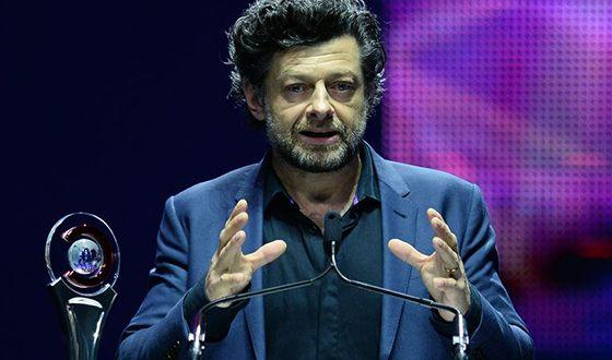 Энди Серкис за свою работу в кино имеет ряд наград и номинаций