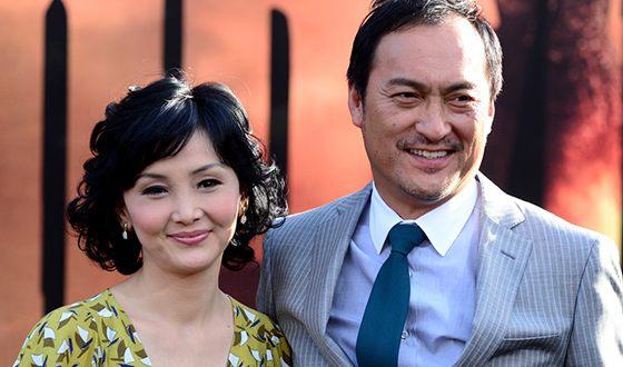 Кен Ватанабе и Кахо Минами