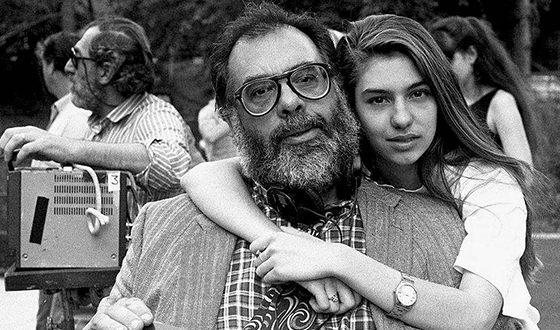 Юная София Коппола и её знаменитый отец