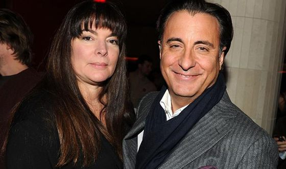 Энди Гарсиа с женой Марией Викторией Мариви Лоридо