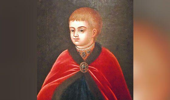 Петр I в детстве. Портрет кисти неизвестного художника