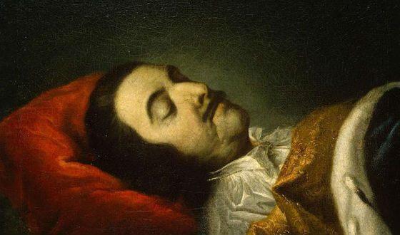 По официальной причине Петр Первый умер от воспаления легких