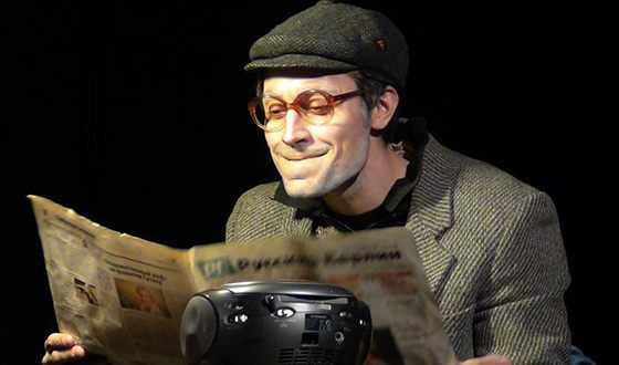 Антон Филипенко на театральной сцене