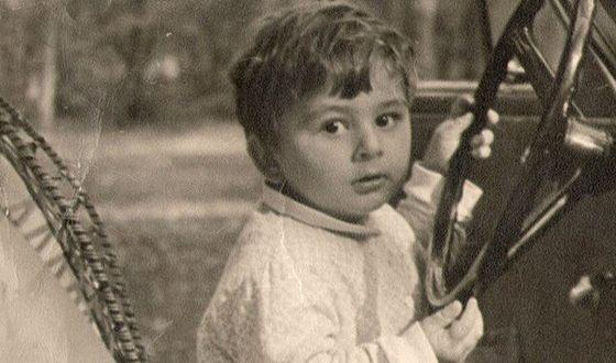 Михаил Саакашвили в детстве