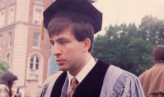 Михаил Саакашвили в студенческие годы