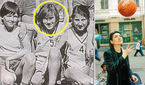 В юности Земфира подавала большие надежды в баскетболе