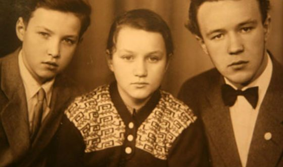 Владимир, Елена и Николай Гундяевы