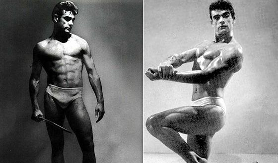 Шон Коннери в молодости увлекался бодибилдингом