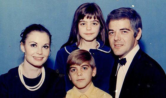 Джордж Клуни и его семья