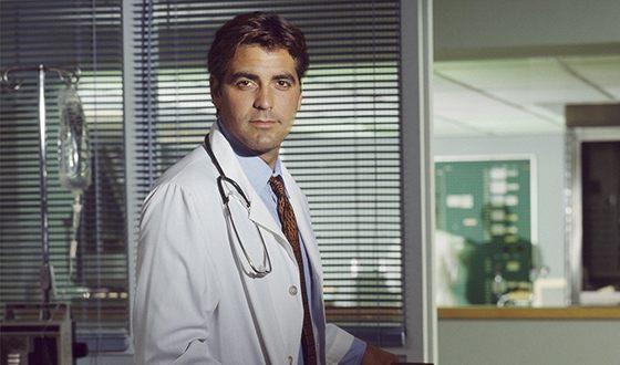 Джордж Клуни в сериале «Скорая помощь»