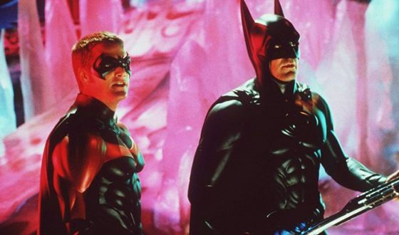 Джордж Клуни в роли Бэтмена