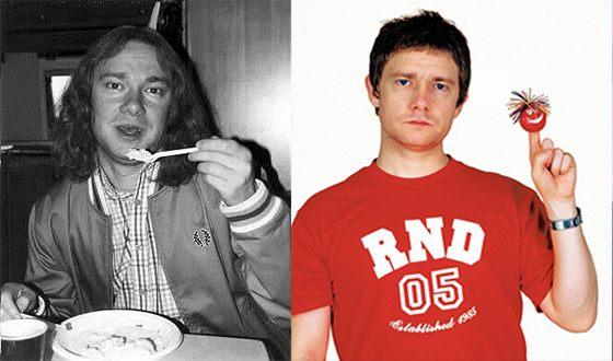 Мартин Фримен в молодости