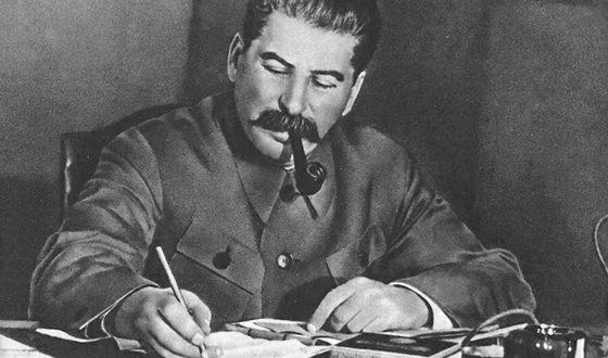 На фото: Иосиф Виссарионович Сталин