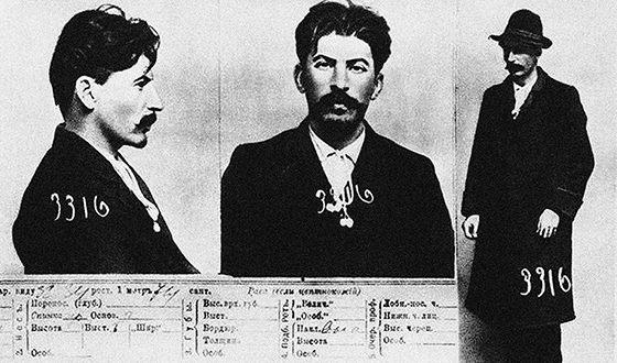 В период 1902-1913 гг. Иосифа Сталина восемь раз подвергали аресту