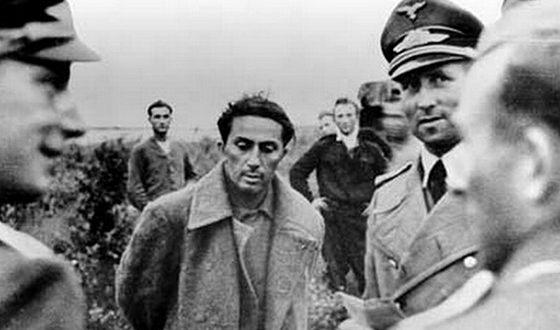 Сын Сталина Яков в немецком плену