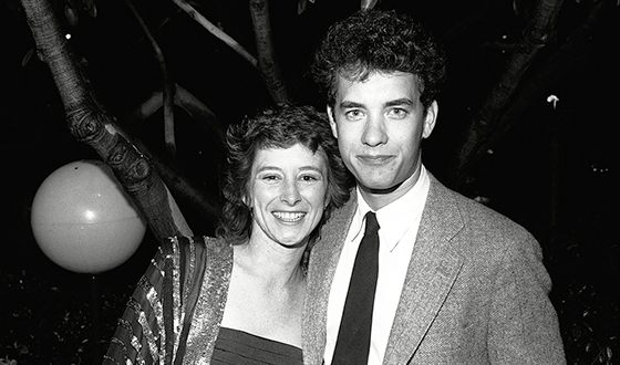 Том Хэнкс с первой женой Самантой Льюис