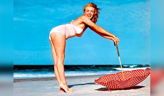 Мэрилин Монро - sex-appeal Америки 50-х годов прошлого века