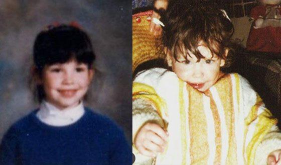 Эванджелин Лилли в детстве