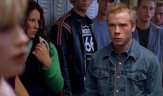 Эванджелин Лилли в эпизоде фильма «Фредди против Джейсона»