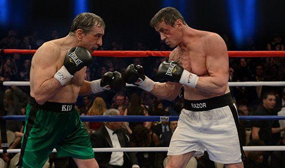 Роберт Де Ниро и Сильвестр Сталлоне в картине «Забойный реванш»