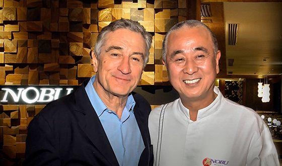 Роберт Де Ниро владеет сетью ресторанов японской кухни «NOBY»