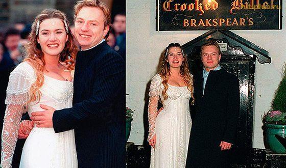 Свадьба Кейт Уинслет и Джима Триплтона