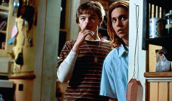 Леонардо Ди Каприо и Джонни Депп в драме «Что гложет Гилберта Грейпа?»