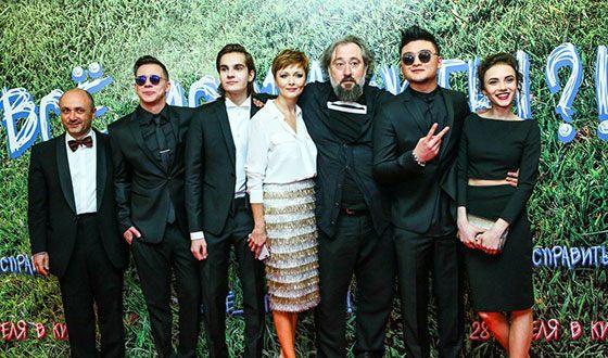 Стася Милославская на премьере фильма «#Все_исправить!?!»