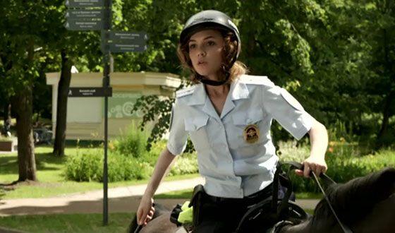 Стася Милославская в сериале «Конная полиция»