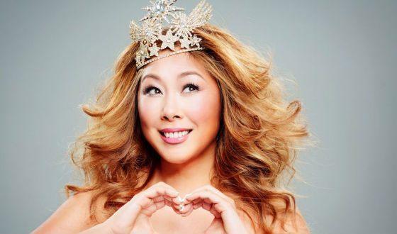 Певица и телеведущая Анита Цой