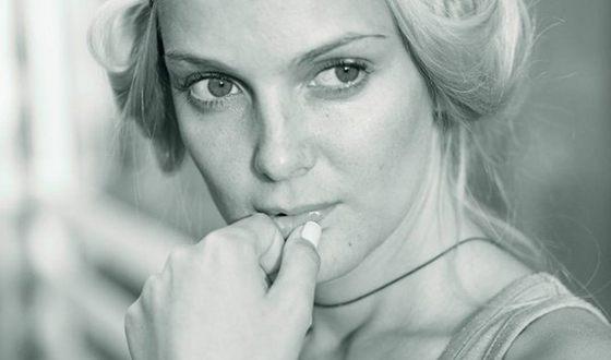 Екатерина Мельник на съемках фильма «Чужая жизнь»